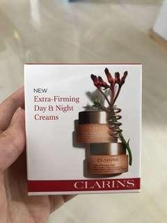 Clarins extra firming day & night cream