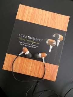 (SG Local Brand) Little Big Sound NatureTone Earphone