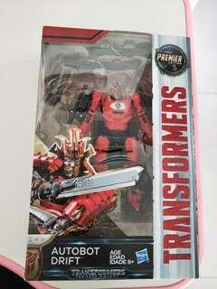 Brand new Transformer Premier Edition Autobot Drift