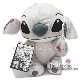 "Japan exclusive 12"" Sing and Shake monochrome Stitch Plush soft Toy (disney/sega)"