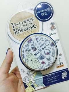 🚚 全新免運!日本購入 美女與野獸氣墊粉餅