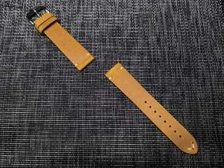 NEW: 20mm Vintage leather watch strap