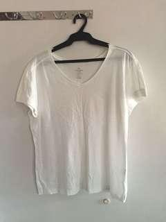 Jockey Plain White V-neck