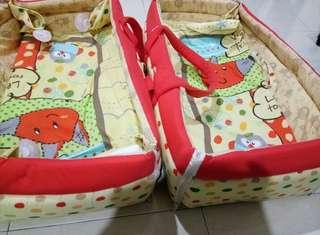 Baby Bed basket and mat