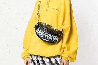 BALENCIAGA Souvenir Grafitti belt bag