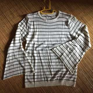 Knitwear strip