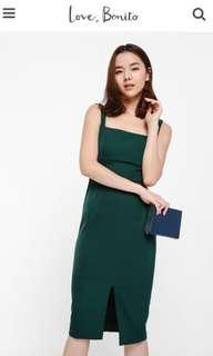 BN LOVE BONITO Dreothe Dress in Green