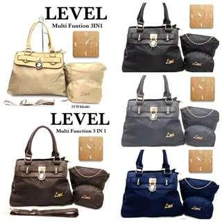 Tas Level 3in1 Fashion kode 2170