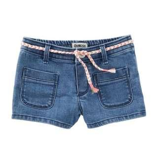 Oshkosh Denim Shorts - Feather Blue Wash