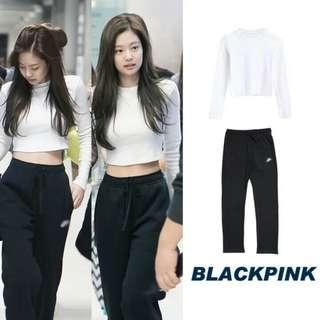 """(PO) Blackpink Jennie """"lazy day"""" full outfit 