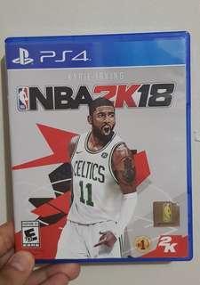 PS4: NBA 2K18