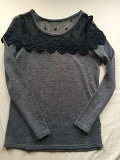 Long Sleeves Lacey
