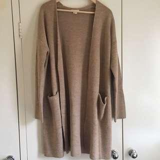 H&M long line knitted cardigan