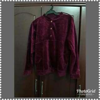 Long sleeve purple