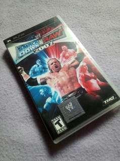 PSP Smack Down VS Raw 2007