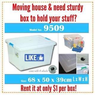 Rent LARGE TOYOGO boxes