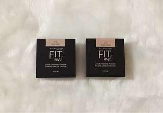 BRAND NEW MAYBELLINE FIT ME LOOSE POWDER