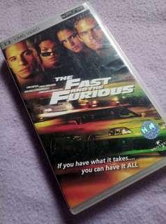 UMD 🎥 for PSP - The Fast and the Furious