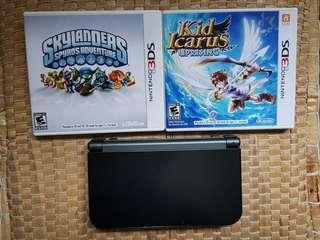 New 3DS XL mint with games