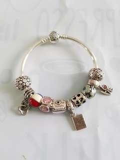 Authentic Pandora bangle set