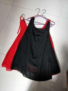 Brand new Flare sleeveless Top Cooling Material