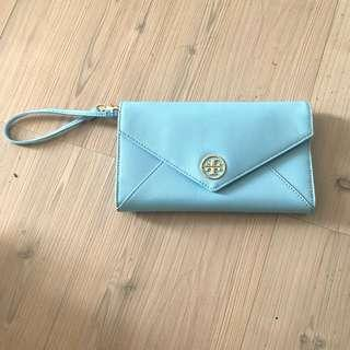 Authentic tory burch big wallet