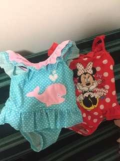 Mothercare swimsuits 3-6mos