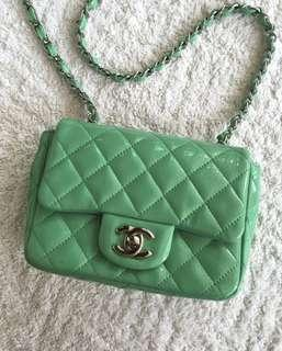 Authentic Chanel mini square