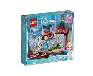 🆕️ LEGO Princess Elsa Market Adventure 41155 (125 pieces). Disney.