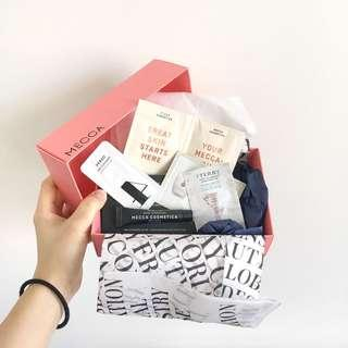 Free Mecca Samples if purchase item $15+