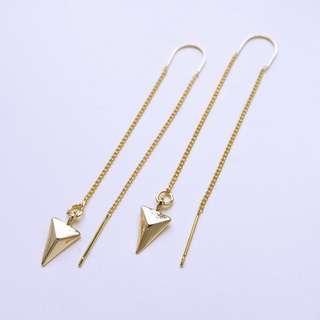 🚚 Rikka Arrow Threader Earrings