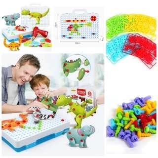 Drill Toys Building Toys