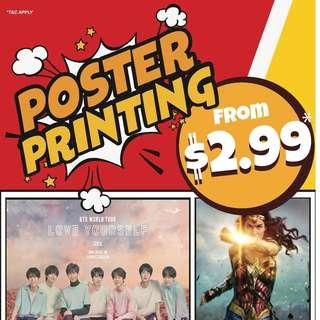 CHEAP PRINTING POSTERS