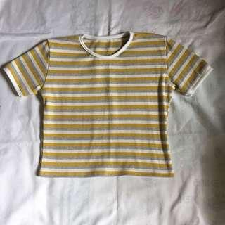 Stripes Cropped Top
