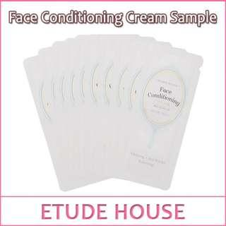 #MidSep50 FREE SHIPPING ETUDE HOUSE FACE CONDITIONING CREAM X 10 SACHETS