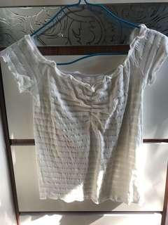 女裝白色上衣