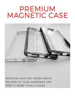 🚚 Magnetic Case SAMSUNG HUAWEI IPHONE OPPO