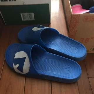 AIR WORK拖鞋藍