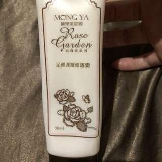 🚚 預購 MONG YA 足部深層修護霜 玫瑰園系列