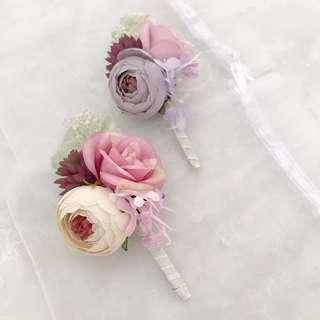 Wedding pretty corsages good quality