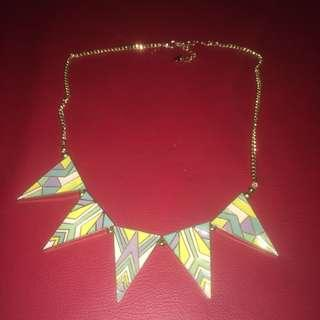 Diva house of harlow dupe tribal necklace