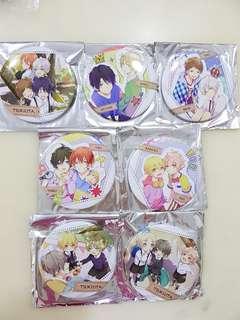 🌟Instock🌟Tsukiuta Can Badges ~childhood ver