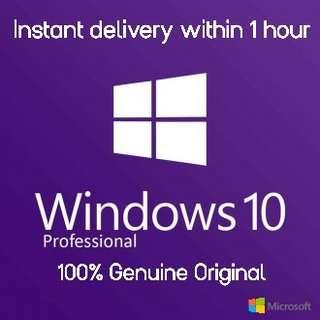[ORIGINAL] LIFETIME WINDOWS 10/8/7 *100% GENUINE ORIGINAL * WINDOWS
