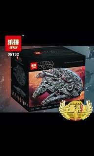 🚚 Lepin 05132 Star Wars Millennium Falcon Ultimate Collectors Series