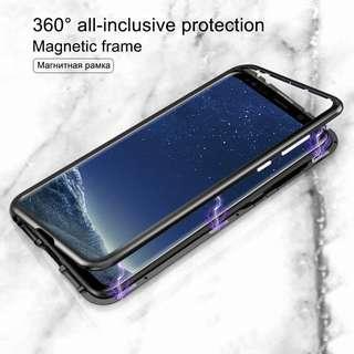 Samsung S8 / S8 Plus Magnetic Metal Frame Case