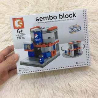 Brandnew Pepsi Sembo Block