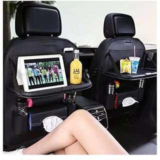 Car seat organizer nampan mobil