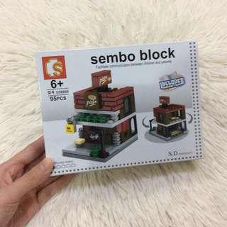 Brandnew 7-11 Sembo Block