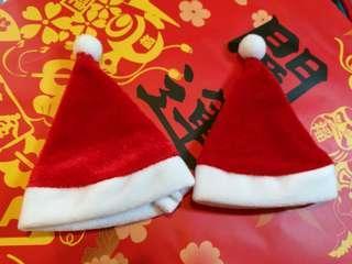 Christmas hat for medium size doll etc