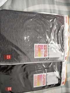 Uniqlo heattech 90 & 100 shirt and pants